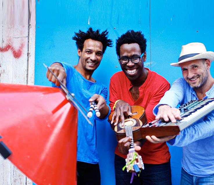 image MUSIQUES AUX JARDINS : TRIO COMBO BRAZIL - LOST ART SONG