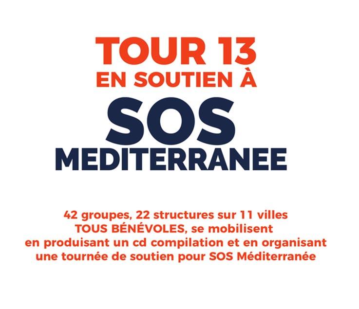 image SOUTIEN SOS MEDITERANEE : LROM - LOCOMOTIVE EXPRESS