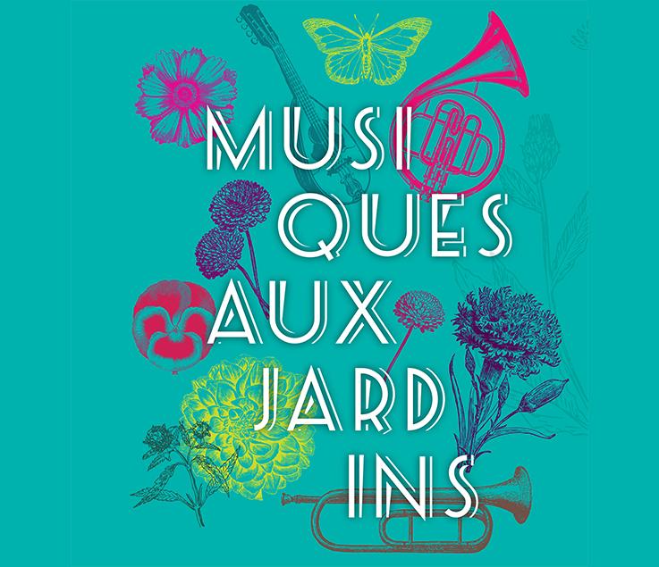 image MUSIQUES AUX JARDINS : DU 3 AU 7 JUILLET   JARDIN DE LA MAGALONE - PARC DE MAISON BLANCHE - PARC DES BRUYERES